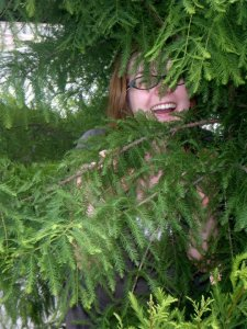 Sarah in a Tree