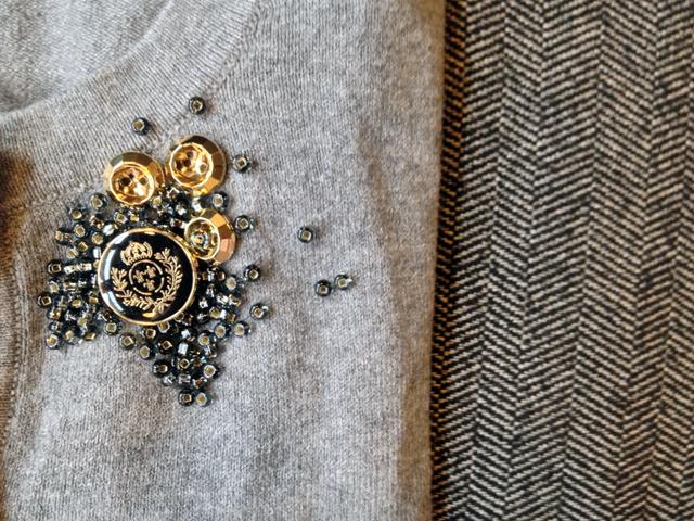 buttons beads