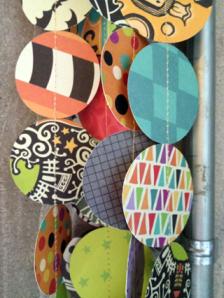 circle paper garland 3