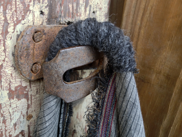 wool wrapped handle